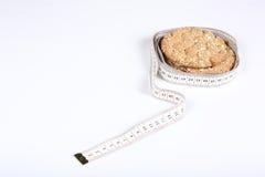 Хлеб и метр Стоковое Фото