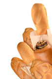 Хлеб и плюшки Стоковые Фотографии RF