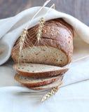Хлеб и пшеница Стоковая Фотография RF