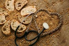 Хлеб клейковины свободный для людей которые получили аллергию Стоковое Изображение RF