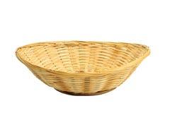 хлеб корзины пустой Стоковое Фото