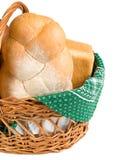хлеб корзины свежий Стоковое фото RF
