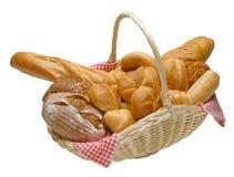 хлеб корзины стоковые изображения rf