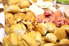 хлеб корзины Стоковая Фотография