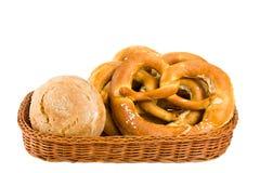 хлеб корзины Стоковые Изображения
