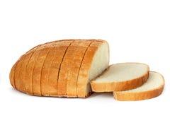 Хлеб на белой предпосылке стоковое изображение rf