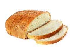 Хлеб на белой предпосылке стоковые изображения rf