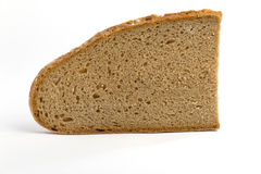 хлеб один ломтик Стоковая Фотография
