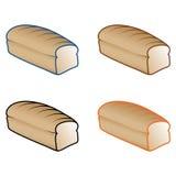 хлеб печатает различное на машинке Стоковые Изображения RF