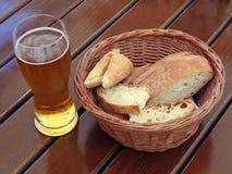 хлеб пива Стоковое Изображение