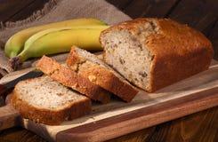 Хлеб помадки гайки банана Стоковое Изображение RF