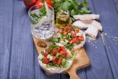 Хлеб риса здоровый Стоковая Фотография