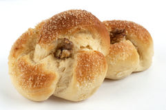 Хлеб с грецким орехом стоковая фотография rf