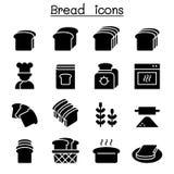 Хлеб, хлебец, хлебопекарня иллюстрация вектора