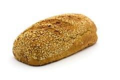 Хлеб хлопьев на белой предпосылке Стоковое Изображение