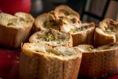 Хлеб чеснока Стоковые Изображения