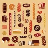 Хлеб bakersfield иллюстрация вектора