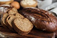 Хлеб Rye домодельный Стоковое фото RF