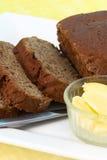Хлеб Rye с маслом Стоковые Фотографии RF