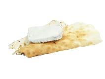 Хлеб Spianata Ozieri и, котор курят сыр Ricotta Стоковые Фотографии RF