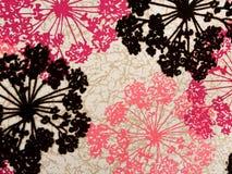 хлопко-бумажная ткань абстрактной предпосылки цветастая Стоковое Изображение RF