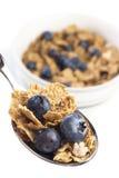 хлопья для завтрака голубики Стоковые Изображения RF