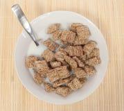 Хлопья пшеницы циннамона Стоковая Фотография RF