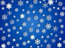 Хлопья снежка Стоковое Изображение RF