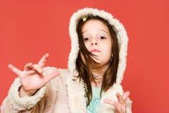хмель вальмы девушки Стоковые Фотографии RF