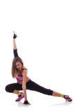 хмель вальмы танцора представляя детенышей Стоковое Изображение