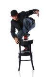 хмель вальмы танцора стула стоковые изображения