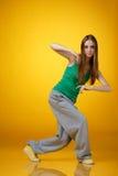 хмель вальмы танцора стоковое фото rf