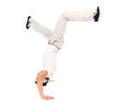 хмель вальмы танцора breakdance Стоковые Изображения RF
