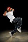 хмель вальмы танцы танцора стоковые изображения rf