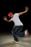 хмель вальмы танцора афроамериканца Стоковое Изображение