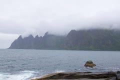Хмель туманной горы стоковые изображения