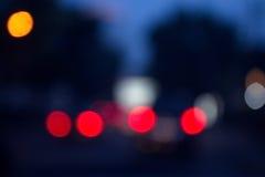 Хмурая предпосылка красных светов Стоковое Фото