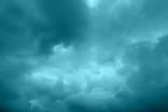 Хмурое небо Стоковая Фотография