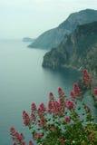 Хмурое утро на море Стоковое Изображение