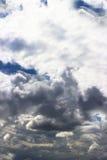 хмурые небеса Стоковое Изображение