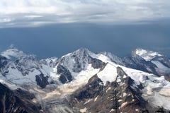 Хмурый ландшафт горы Стоковые Изображения RF