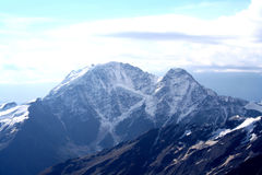 Хмурый ландшафт горы Стоковое Изображение RF