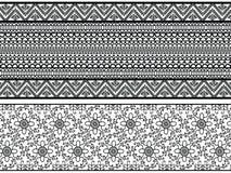 хна границ детальная Стоковая Фотография RF