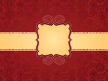 хна знамени предпосылки цветастая Стоковые Изображения RF