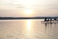 Хобби рыбной ловли Стоковое Фото