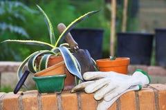 Хобби садовничая оборудования Стоковые Изображения RF