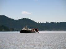 ховеркрафт службы береговой охраны Стоковые Фотографии RF
