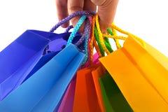 ходить по магазинам мешков Стоковые Изображения RF