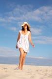 Ходок пляжа Стоковое Изображение RF