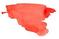 ходы красного цвета щетки Стоковые Фото